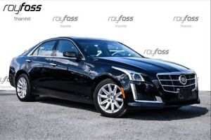 2014 Cadillac CTS **FREE SNOW TIRES**Awd Nav Roof Driver Aware P