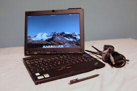 Tablet Laptop Lenovo X200 (250GB, Intel Core 2 Duo, 1.86GHz, 2GB RAM)