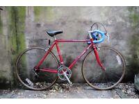 PEUGEOT EQUIPE. 20 inch, 51 cm. Vintage racer racing road bike, 12 speed