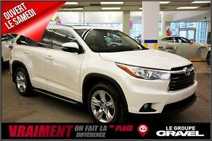 2014 Toyota Highlander Limited GPS CUIR TOIT PANO BLUETOOTH CAME