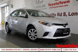 2014 Toyota Corolla SINGLE OWNER CE NEW TIRES AND BRAKES