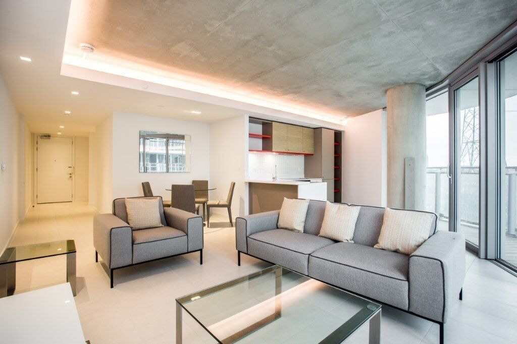 SPACIOS BRAND NEW 2 BED 2 BATH APARTMENT - HOOLA BUILDING - VACANT - DESIGNER FURNISHED CANNING TOWN