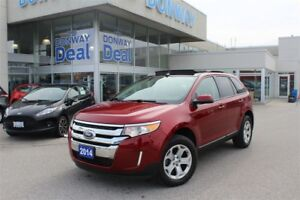 2014 FORD EDGE SEL | FWD | PANORAMIC ROOF | NAVIGATION | LOW KMS
