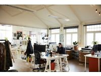 STUDIO SPACE / Desks / Area in creative studio / 5 mins from Seven Sisters & Tottenham hale £350 PCM
