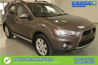2012 Mitsubishi Outlander GT, AWD, LEATHER, LOCAL, NO ACCIDENTS