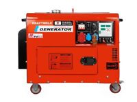 Generator KRAFTWELE SDG ATS 9800 SILENT 9,8 Kva DIESEL 3 PHASE