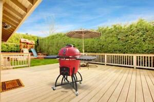ICON Premium Kamado Grills  --  Use Lump Charcoal, Gas or Wood Pellets  --  The Best Food You Will Ever Cook!