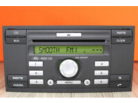 FORD 6000 CD RADIO PLAYER with code TRANSIT FOCUS CONNECT FIESTA