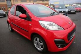 PEUGEOT 107 1.0 ALLURE 5d 68 BHP - Quality & Value Guaranteed (red) 2013