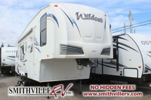 2011 FOREST RIVER WILDCAT 28RKBS