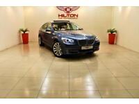 BMW 5 SERIES 3.0 530D SE GRAN TURISMO 5d AUTO 242 BHP (blue) 2011