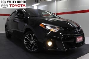 2015 Toyota Corolla S Nav Sunroof Btooth BU Camera Cruise