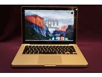"Apple MACBOOK PRO 13.3"" 2.4Ghz CORE i5 4Gb 500GB HD REASON NATIVE INSTRUMENTS MASSIVE CUBASE ABLETON"