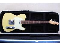 Squire Telecaster Electric guitar with Hard carry case + extras!!