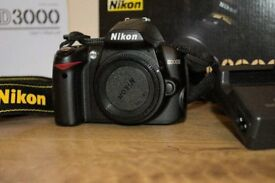 Nikon D3000 Near mint Kit