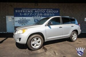 2010 Toyota RAV4 4X4 4CYL 3 Yr 60,000 KM Warranty Available