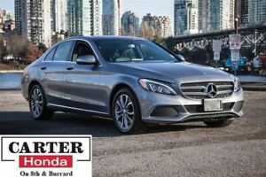 2015 Mercedes-Benz C-Class C300 4MATIC + NAVI + LOCAL + ACCIDENT