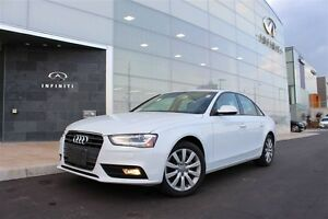 2013 Audi A4 2.0T 2.0T|ROOF|S-LINE|COLD WEATHER PKG