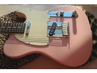Shell Pink WARMOTH Telecaster
