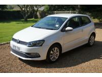 Volkswagen Polo 1.2 TSI BlueMotion Tech SE Hatchback 3dr, low mileage, pristine condition