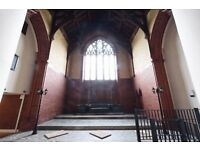 Unique Film / Photography / Work Opportunity in Refurbished Church