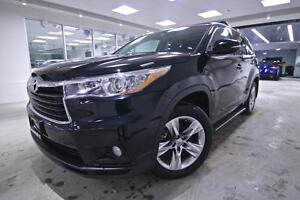 2015 Toyota Highlander LIMITED, ONE OWNER, NO ACCIDENTS, SERVICE