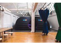 Warehouse Studio in London Fields, Hackney. E8 3SB 1600sqft Hackney £4500 ALL Inclusive