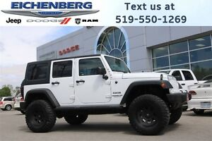 2014 Jeep Wrangler Unlimited Sport *LIFTED*