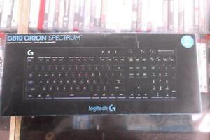Brand New Logitech G810 Orion Spectrum RGB Mechanical Gaming Keyboard