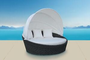 NEW!  Outdoor Wicker Daybed with SUNBRELLA.Free local delivery in Victoria and many surrounding areas.