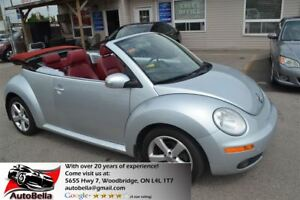 2009 Volkswagen New Beetle 2.5L Trendline Convertible Leather No