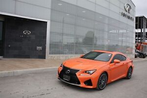 2015 Lexus RC F Rare Sports Coupe
