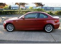 2011 BMW 1 Series coupe 120D M Sport 85K FSH, Leather Heated Seats, Climate, Angel eye headlights,