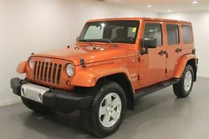 2011 Jeep WRANGLER UNLIMITED Sahara|Auto|Loaded|Low Kms!!