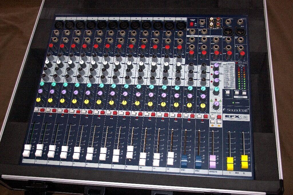 Soundcraft Efx12 Manual
