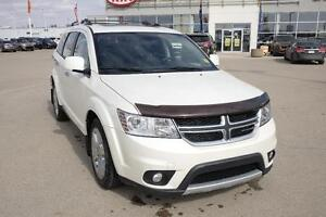 2013 Dodge Journey R/T DVD player, AWD, heated leather seats!
