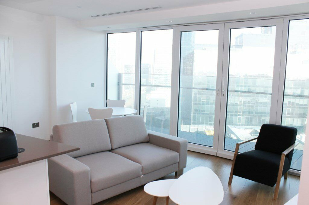 LUXURY BRAND NEW 1 BED BALTIMORE TOWER ARENA TOWER E14 CANARY WHARF CROSSHARBOUR SOUTH QUAY