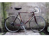 PEUGEOT TOURISTE, 23 inch, vintage racer racing road bike, 12 speed