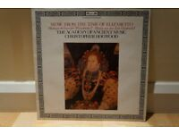 Christopher Hogwood - Music From The Time Of Elizabeth I - Vinyl Album