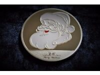 2017 Dated Silver Christmas Coin