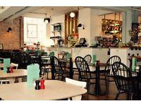 Full Time Waitress/ The Ambrose Cafe/ Tottenham Court Road