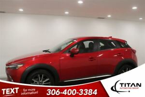 2016 Mazda CX-3 GT AWD Nav Cam Heated Leather Red