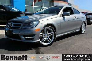 2012 Mercedes-Benz C-Class C350 -Loaded Coupe, Nav + Sunroof
