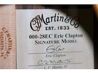 Martin Acoustic Eric Clapton Signature Model 00028-EC - New Unplayed