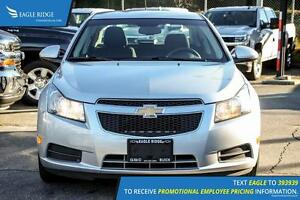 2011 Chevrolet Cruze LT Turbo Satellite Radio and Air Conditi...