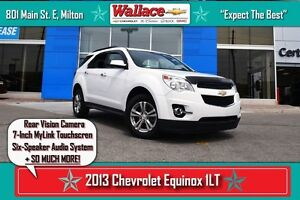 2013 Chevrolet Equinox 1LT/1-OWNER/REAR CAMERA/7-INCH TOUCHSCREE