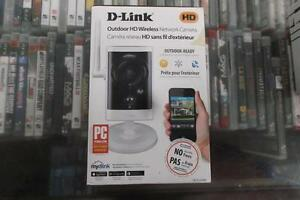 Brand New D-Link HD Outdoor Wireless Network Camera