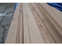 Solid white oak skirting