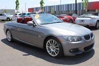 2012 BMW 328I CONVERTIBLE*M PACKAGE*INT. ROUGE*TOIT RIGIDE*