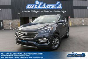 2017 Hyundai Santa Fe Sport SE SPORT AWD! LEATHER! PANORAMIC SUN